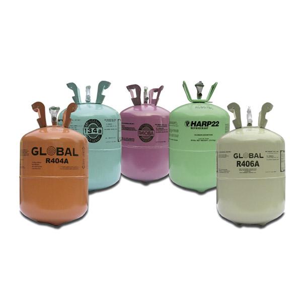 Gases y aceites refrigerantes