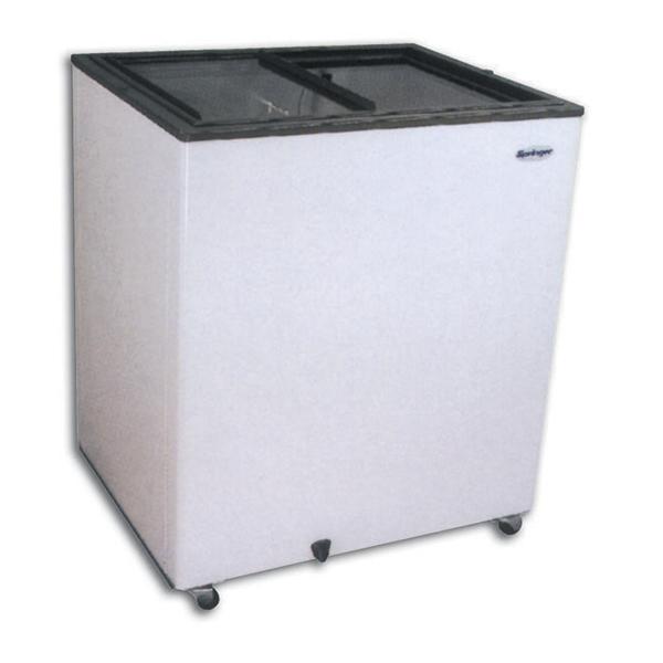 Congelador horizontal tapa vidrio 350 lts