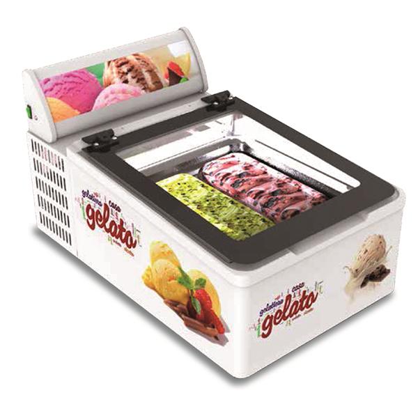 Minibarquillera para helado