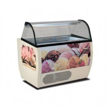 Barquillera Rumba 10 NV para helado