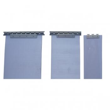 Soporte acero inoxidable 150 cms para cortina de lamas