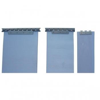 Colgadores acero inoxidable para cortinas de lama 400 mm