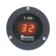 D 601, display temperatura para trailer refrigerado