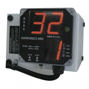 D 505, display temperatura para trailer refrigerado