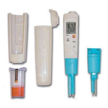 pH metro T 206 pH 2 Testo para semi sólidos