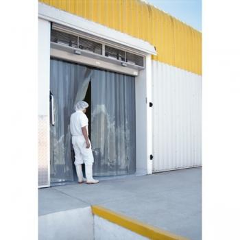 Colgadores acero inoxidable para cortinas de lama 300 mm