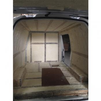 Aislación + refrimarket 14 techo, furgón grande, congelados -18°C - furgon refrigerado